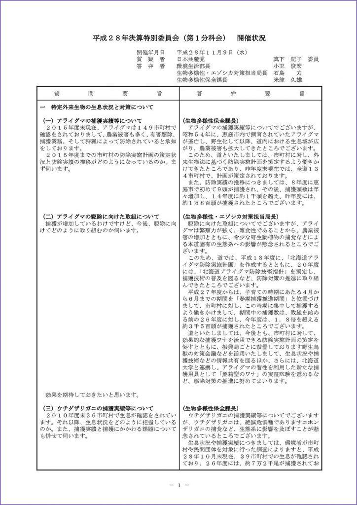 3_20161109_真下議員決特(環境生活部・特定外来生物)_ページ_1