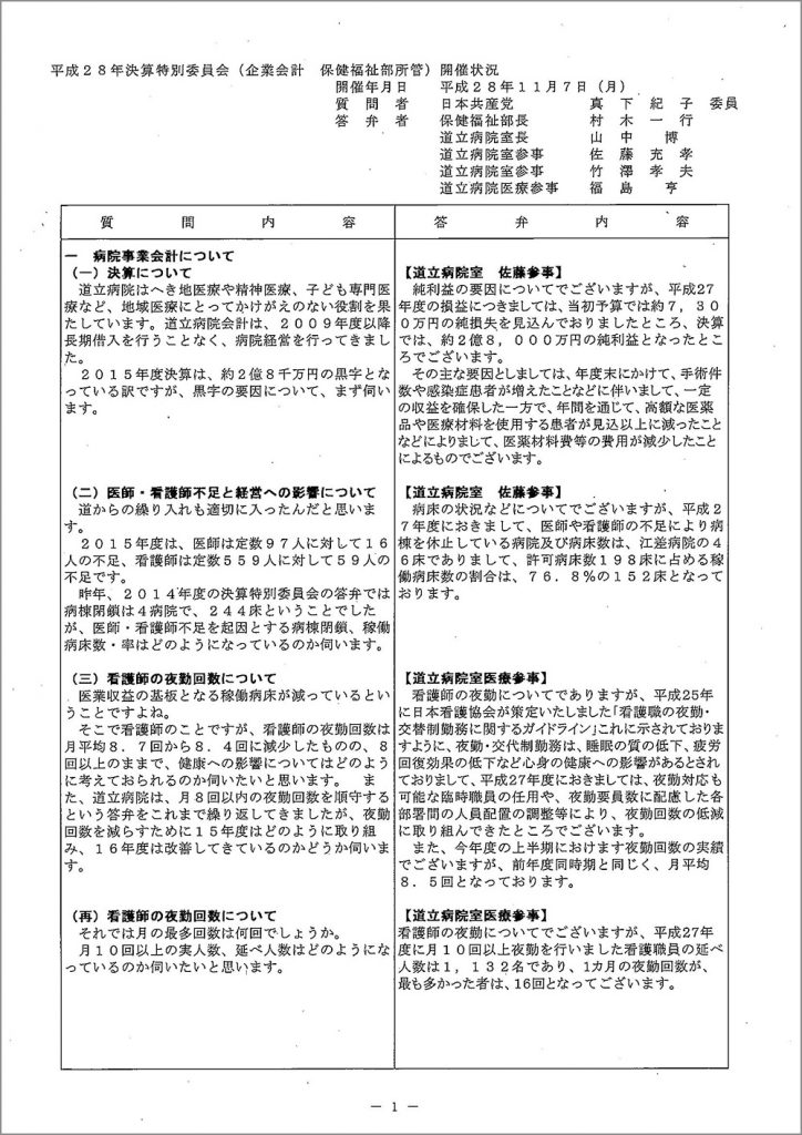 20161107真下議員決特(病院事業会計)_ページ_1